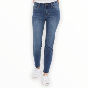 4/$25 OLD NAVY Mid-Rise Super Skinny Blue Jeans